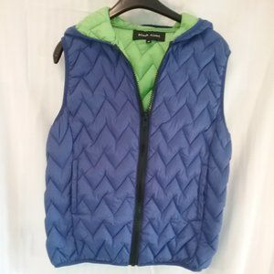 Puffy Hooded Down Vest | Women's Size Medium